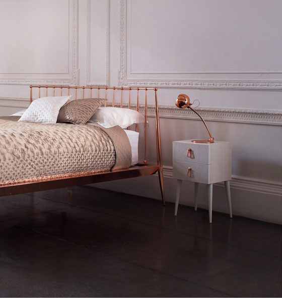 16 Rose Gold And Copper Details For Stylish Interior Decor: Rose Gold Interior Design
