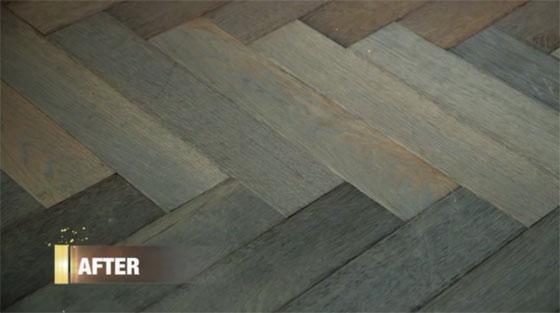 Herringbone Floor Pattern Genevieve Gorder