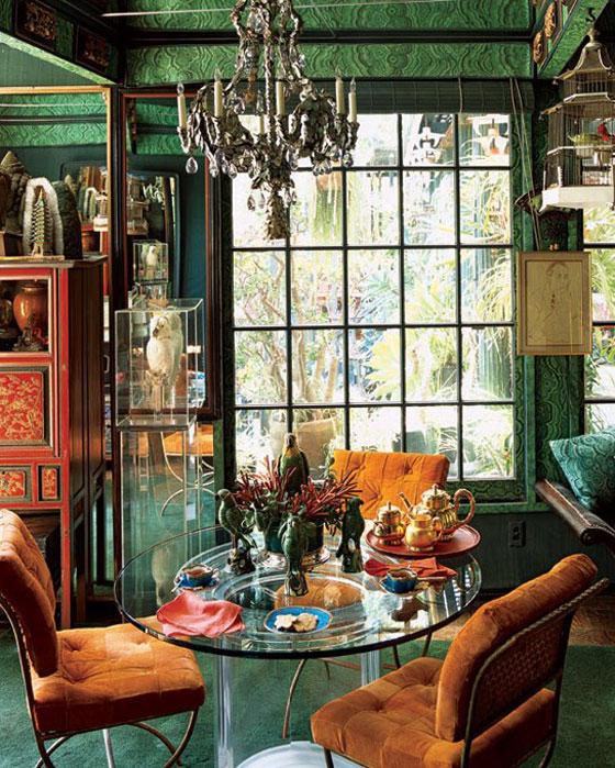 Tony Duquette Malachite Room