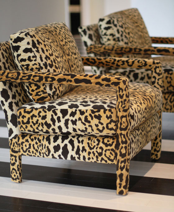 Leopard Chairs Armchairs
