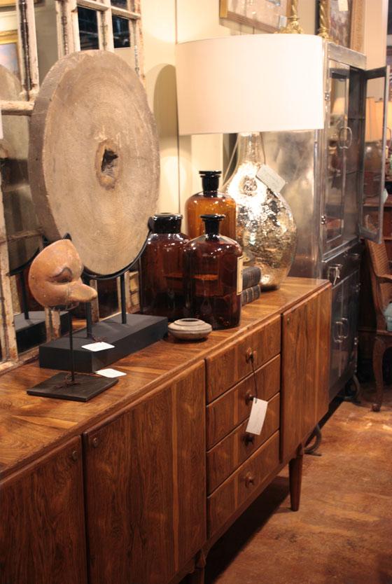 Foxglove Antiques vintage Danish mid-century modern rosewood credenza