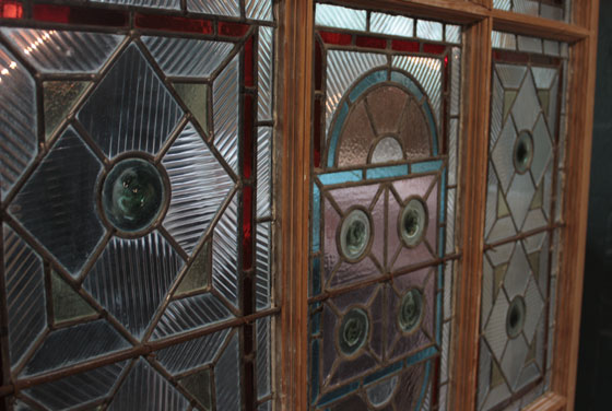 Architectural Accents Salvage Stained Glass