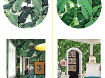 Get the Look: Tropical Leaves