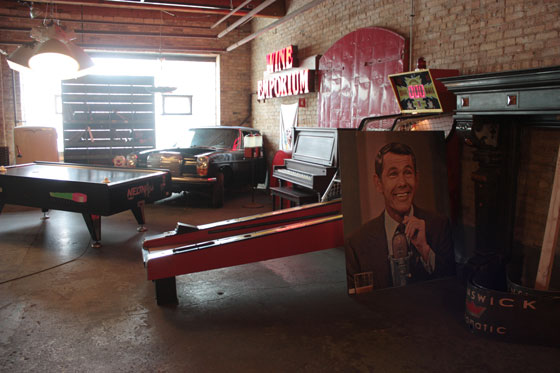 Architectural Salvage One Johnny Carson Poster Cardboard Pinball Machine Arcade Game Vintage Car Antique
