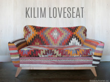 The Lorimer Project Part II – Kilim Loveseat