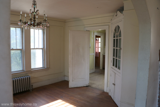 Brackett Flip House Dining Room Renovation