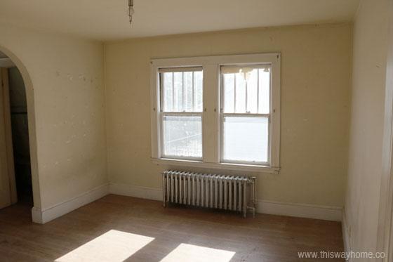Brackett Flip House Bedroom Before