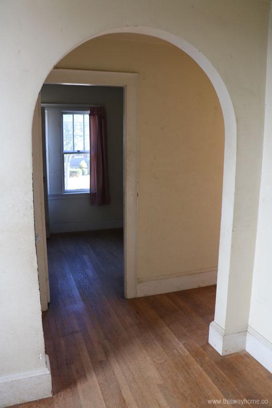 Brackett Flip House Archway Arch Doorway